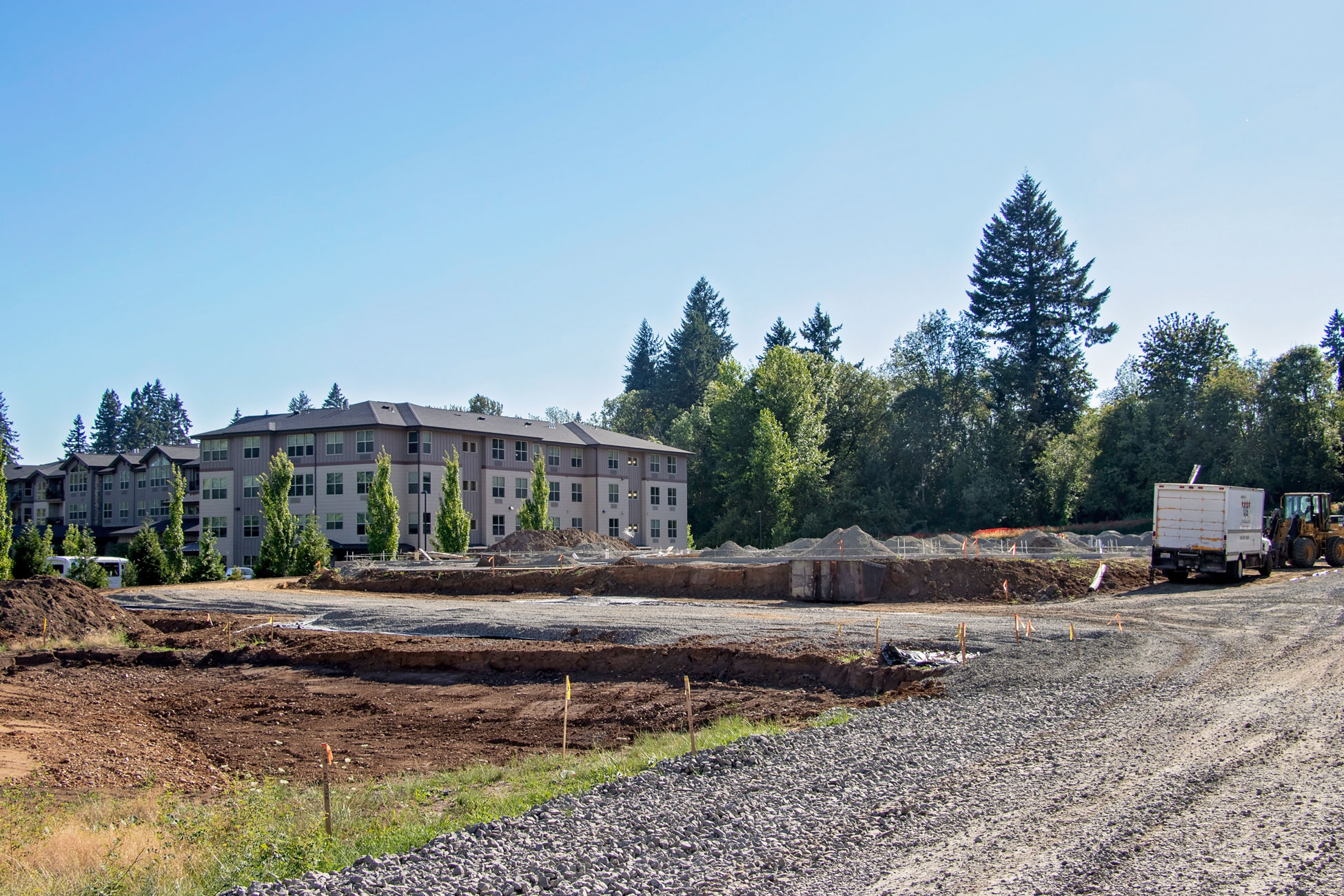 The Trails at Salmon Creek construction